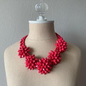 Zara Hot Pink/ Fuschia Statement Necklace